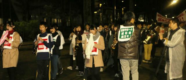일본통일-무상화시위-조선대취조악단.jpg